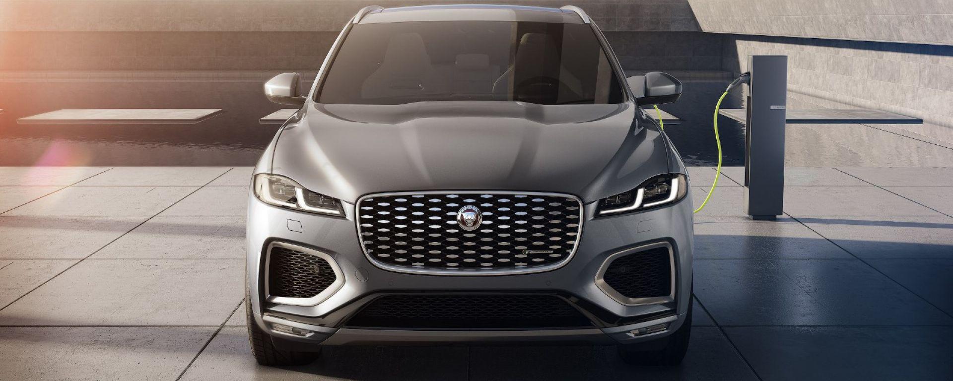 Jaguar Land Rover a MIMO 2021: Jaguar F-Pace PHEV