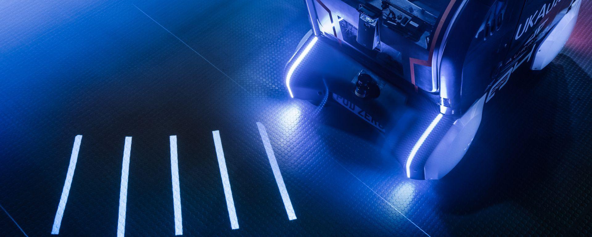 Jaguar Land Rover e la tecnologia salva-pedoni