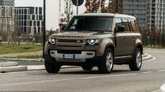 Jaguar Land Rover gamma elettrificata: il Defender 110 della recente prova di Motorbox
