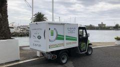 Jaguar Land Rover gamma elettrificata: il furgone con il generatore per la ricarica E-Gap a domicilio