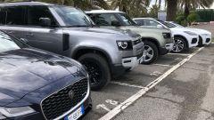 Jaguar Land Rover gamma elettrificata: Land Rover e Jaguar in attesa del test drive su strada