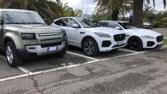 Jaguar Land Rover gamma elettrificata: un test drive con i nuovi modelli della Casa inglese