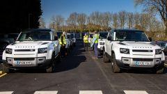 Jaguar Land Rover insieme alla Croce Rossa contro il Coronavirus