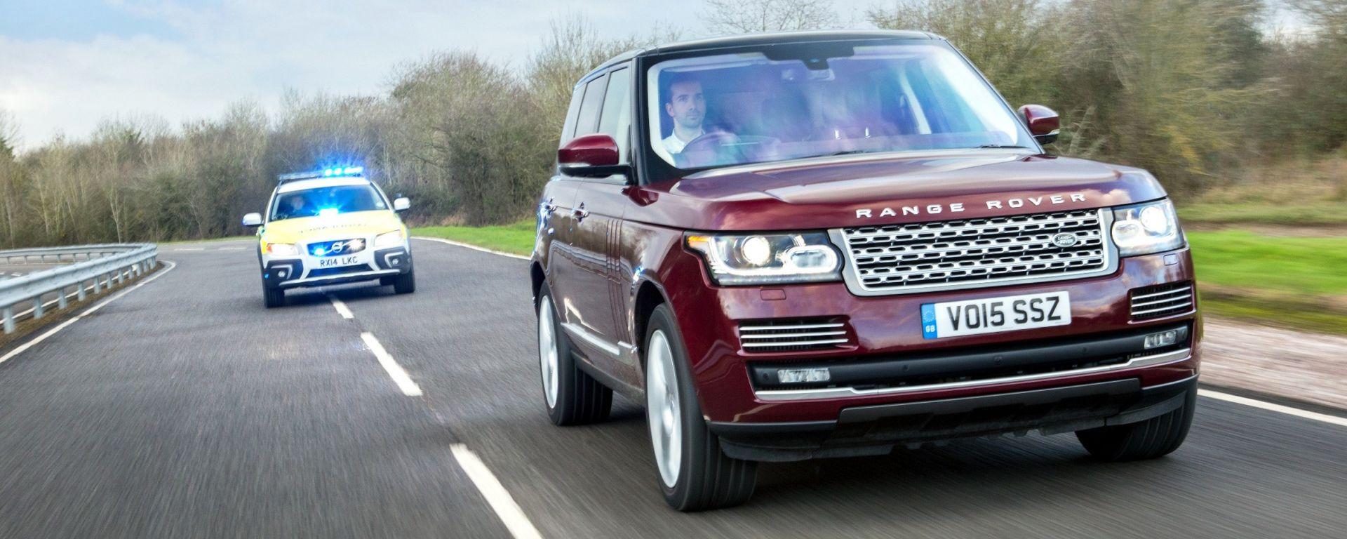 Jaguar-Land Rover: test su strada per le tecnologie del futuro