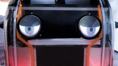 Jaguar Land Rover Virtual Eye Pod: dettaglio degli occhi virtuali