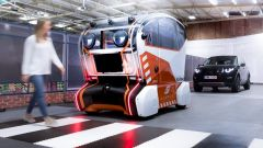 Jaguar Land Rover Virtual Eye Pod durante un test