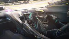 Jaguar Vision Gran Turismo: gli interni durante una gara