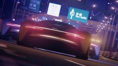 Jaguar Vision Gran Turismo in azione