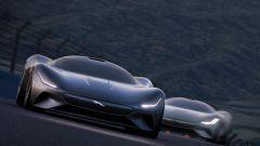 Jaguar Vision Gran Turismo in gara