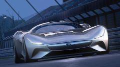 Jaguar Vision Gran Turismo: visuale anteriore