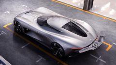 Jaguar Vision Gran Turismo: visuale dall'alto