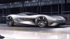 Jaguar Vision Gran Turismo: visuale di 3/4 anteriore