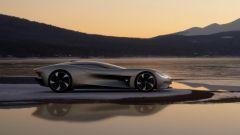 Jaguar Vision Gran Turismo: visuale laterale