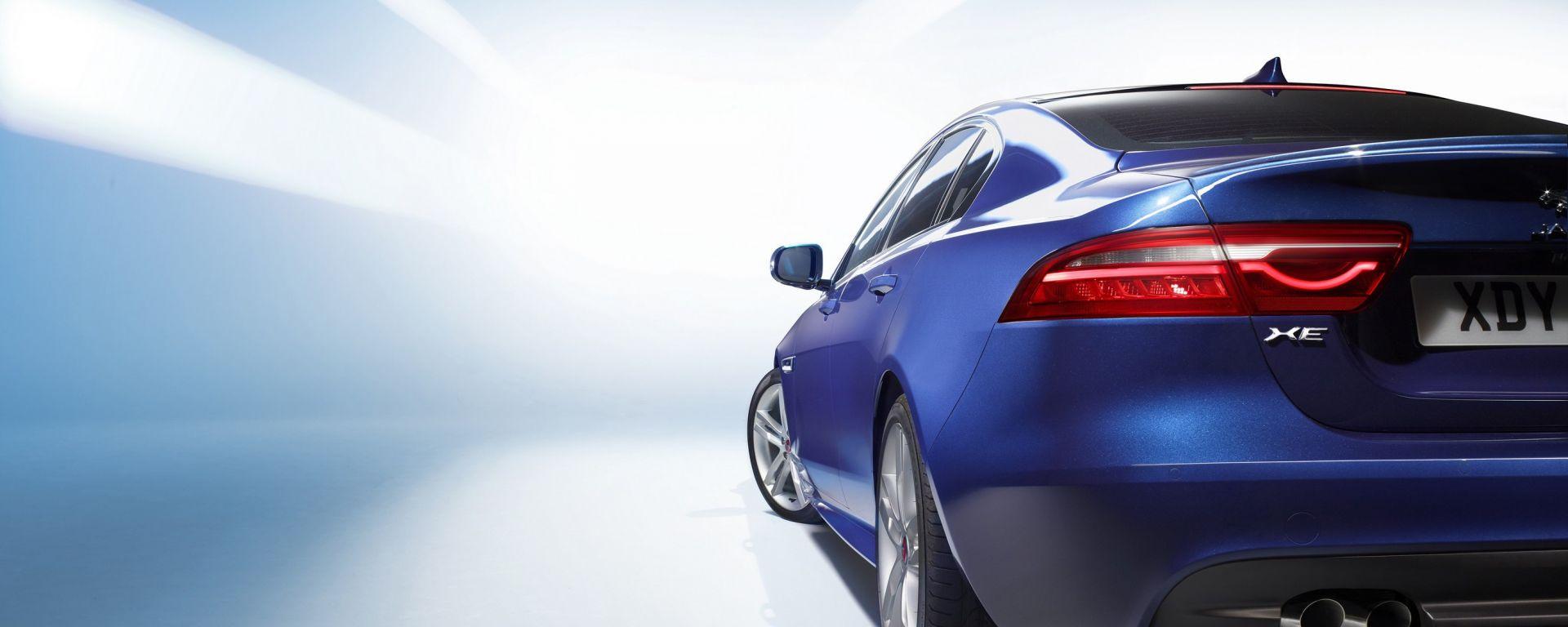 Jaguar XE: nuove immagini