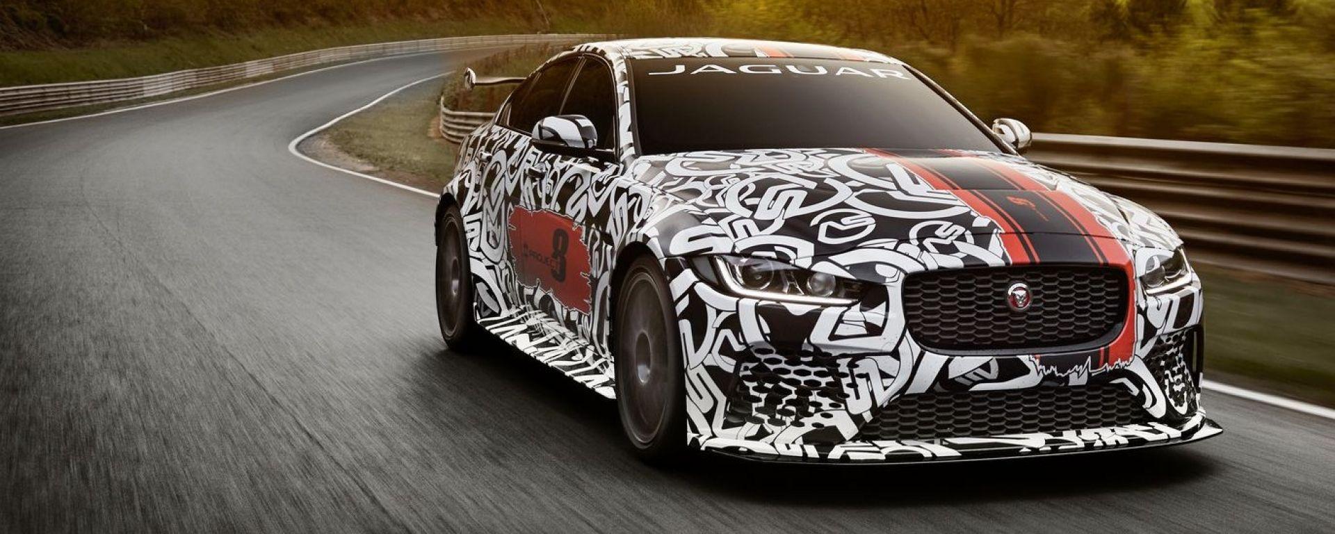 Jaguar XE SV Project 8, la Jaguar stradale più potente di sempre