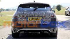 Jaguar XF Sportbrake facelift: visuale posteriore