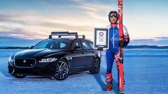 Jaguar XF Sportbrake:Graham Bell stabilisce un Guinness World Records