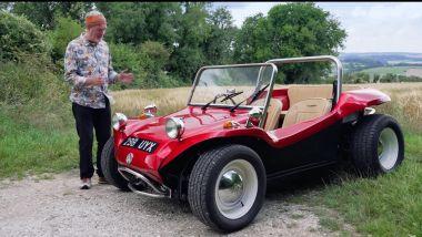 James May e la sua dune buggy Volkswagen