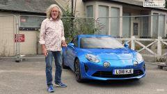 James May al volante della sua Alpine A110 per DriveTribe. Video