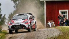 Jari Matti Latvala e la sua Yaris WRC 2017
