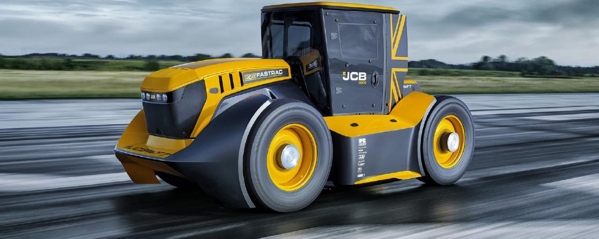 JCB Fastrac 800 elaborato da Williams F1