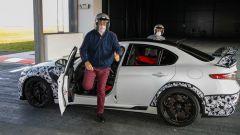 Jean-Philippe Imparato prova la Giulia GTAm: il capo di Alfa Romeo scende soddisfatto dalla Giulia GTAm