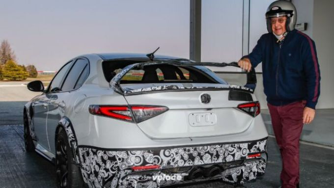 Jean-Philippe Imparato prova la Giulia GTAm: il CEO Alfa Romeo dopo il test a Balocco