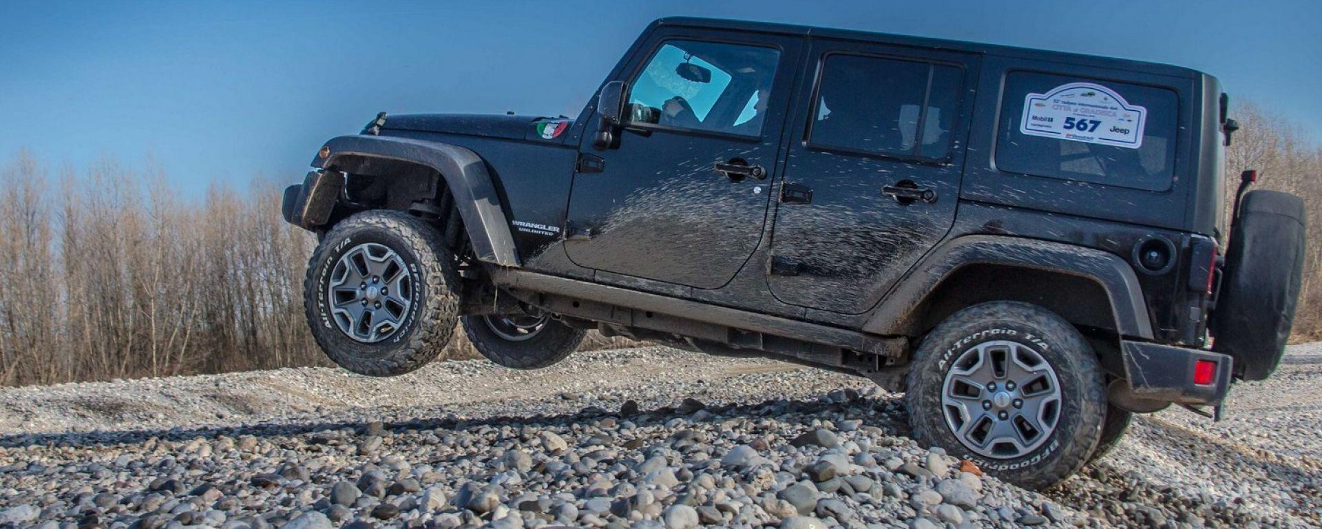 Jeep, cartoline da Gradisca