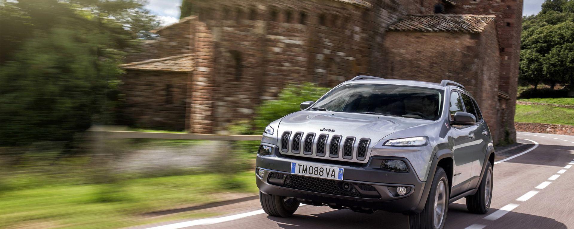 Jeep Cherokee 2014, la versione europea