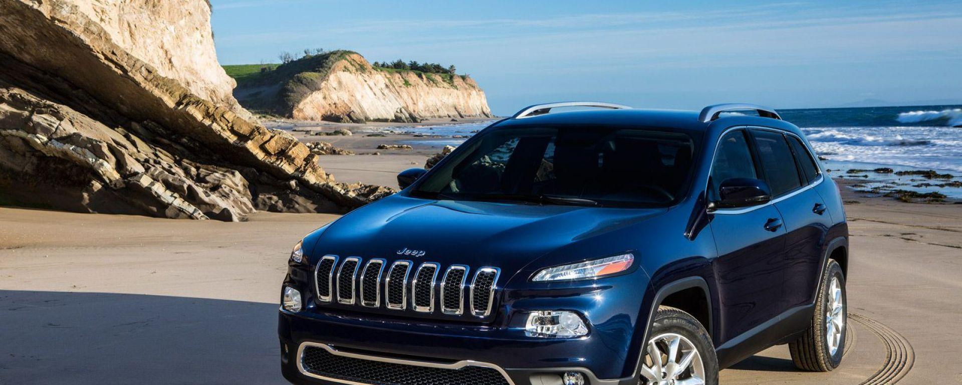 Jeep Cherokee 2014, le prime foto