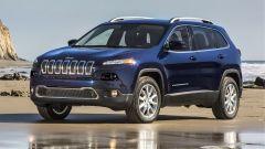 Jeep Cherokee 2018: vista 3/4 anteriore