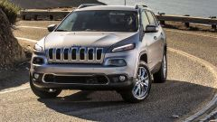 Jeep Cherokee 2018: vista frontale
