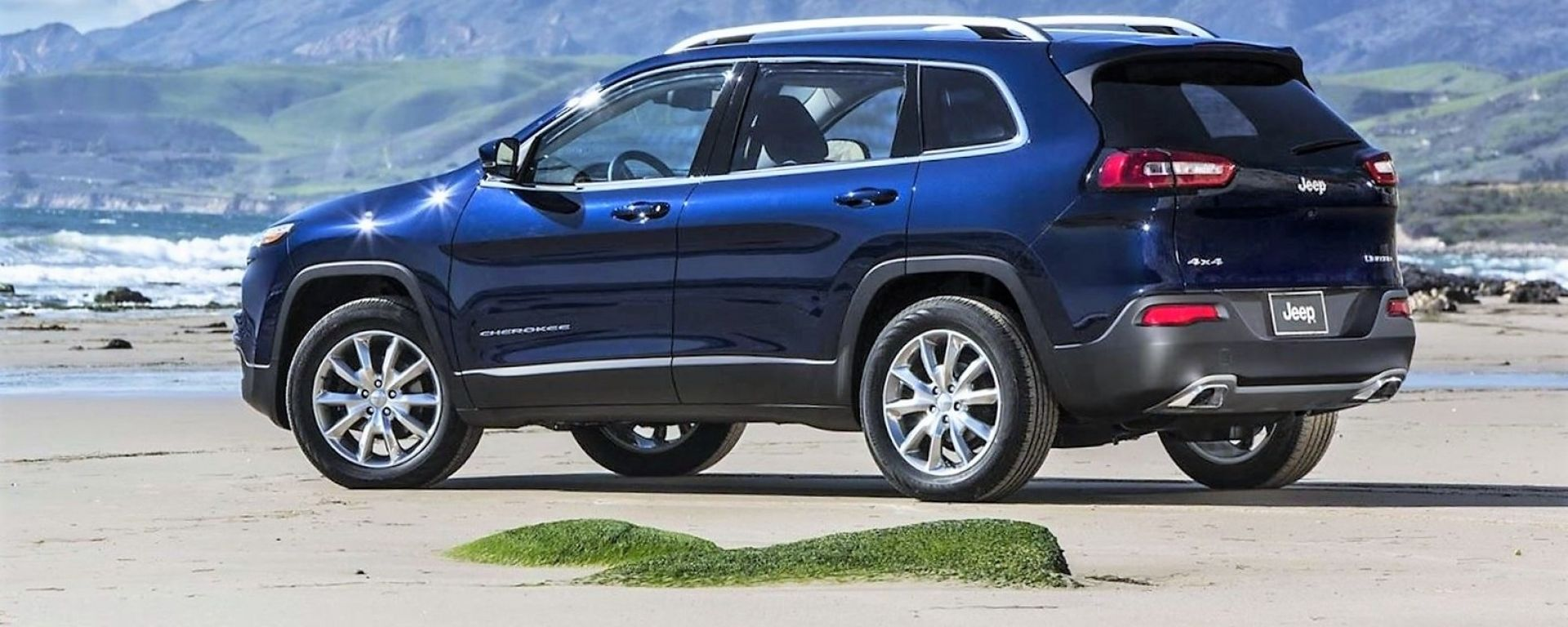Jeep Cherokee 2018: vista laterale