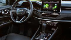 Jeep Compass 2021, gli interni