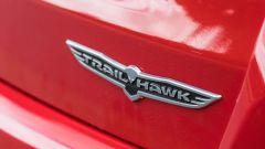 Jeep Compass 4xe: lo stemma dell'allestimento Trailhawk