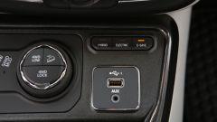 Jeep Compass 4xe plug-in hybrid Limited, il selettore delle funzioni ibride