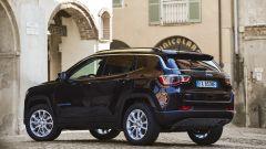Jeep Compass 4xe plug-in hybrid, quattro allestimenti