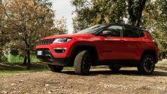 Jeep Compass 4xe Trailhawk: al volante della Jeep plug-in hybrid