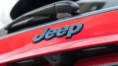 Jeep Compass 4xe Trailhawk: il marchio sul portellone