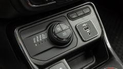 Jeep Compass 4xe Trailhawk: il selettore della trazione 4x4