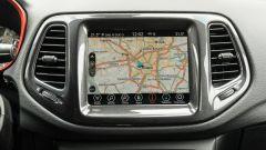 Jeep Compass 4xe Trailhawk: lo schermo touch dell'infotainment