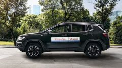 Jeep Compass di Leasys per Croce Rossa Italiana
