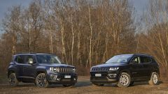 Jeep Compass e Jeep Renegade 4xe