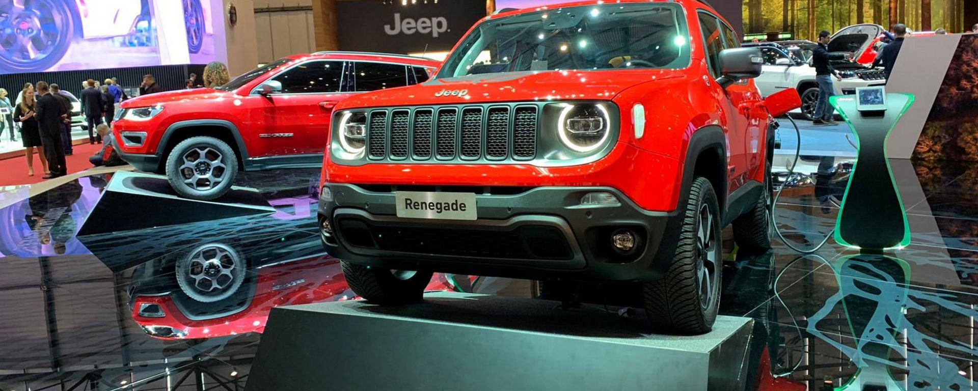 Jeep Compass e Renegade plug-in