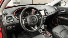 Jeep Compass, gli interni
