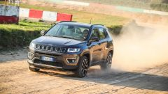 Jeep Compass, il frontale