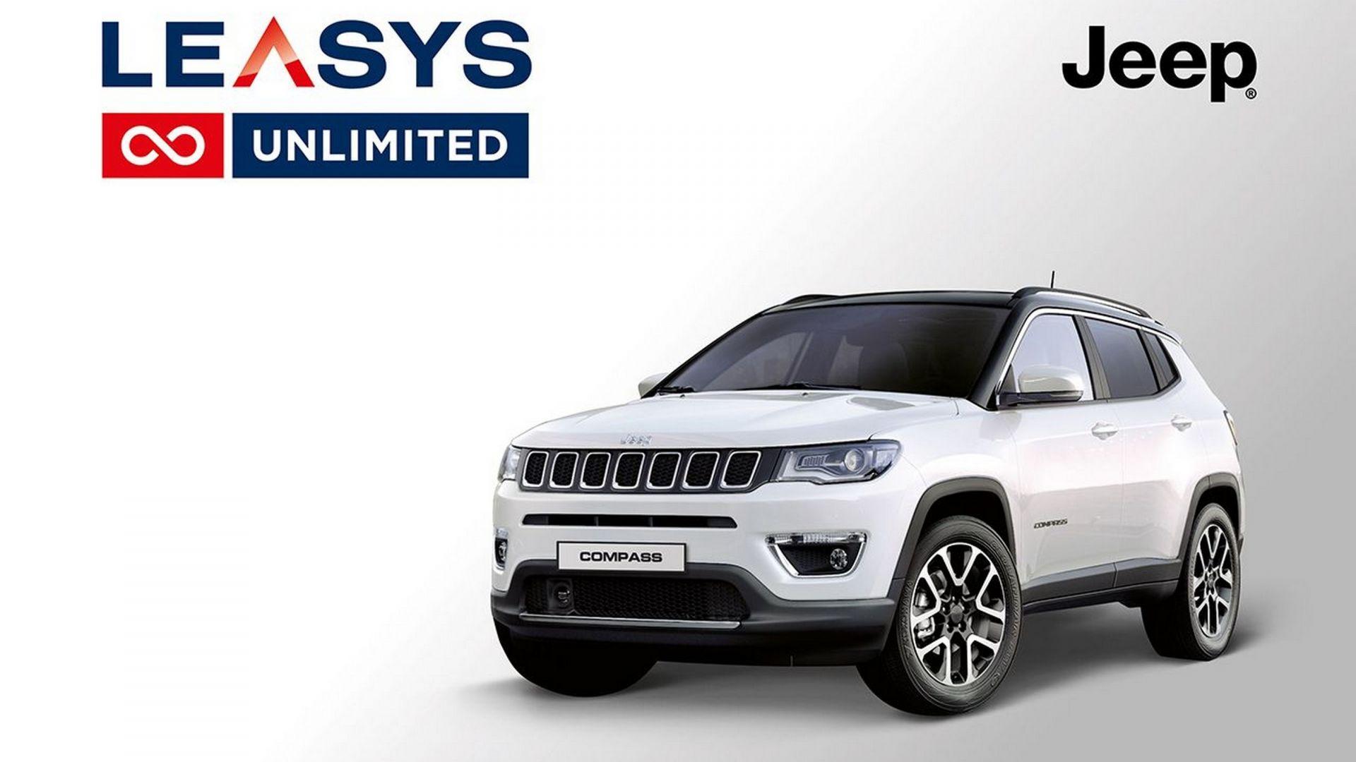 jeep compass leasys unlimited il noleggio auto a lungo termine 2 0 motorbox. Black Bedroom Furniture Sets. Home Design Ideas