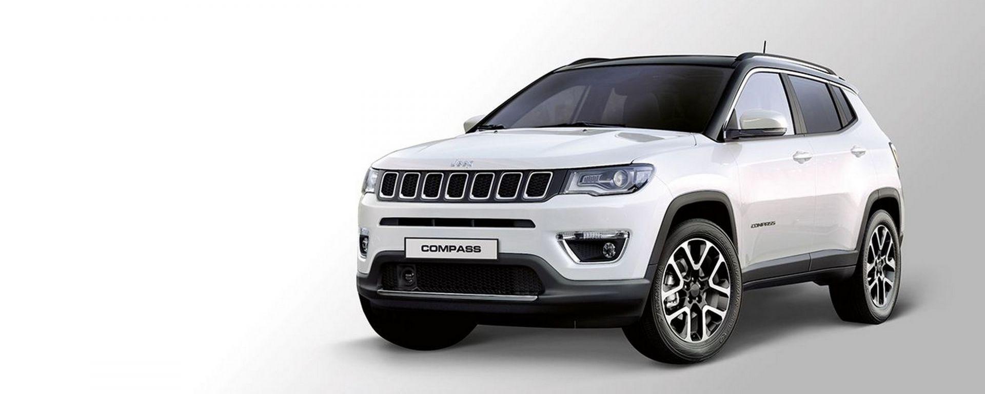 Jeep Compass Leasys Unlimited: il noleggio auto a lungo termine ad abbonamento
