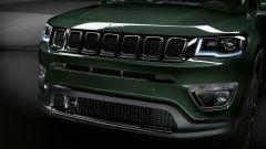 Jeep Compass Limited, dettaglio del frontale