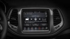 Jeep Compass, lo schermo dell'infotainment